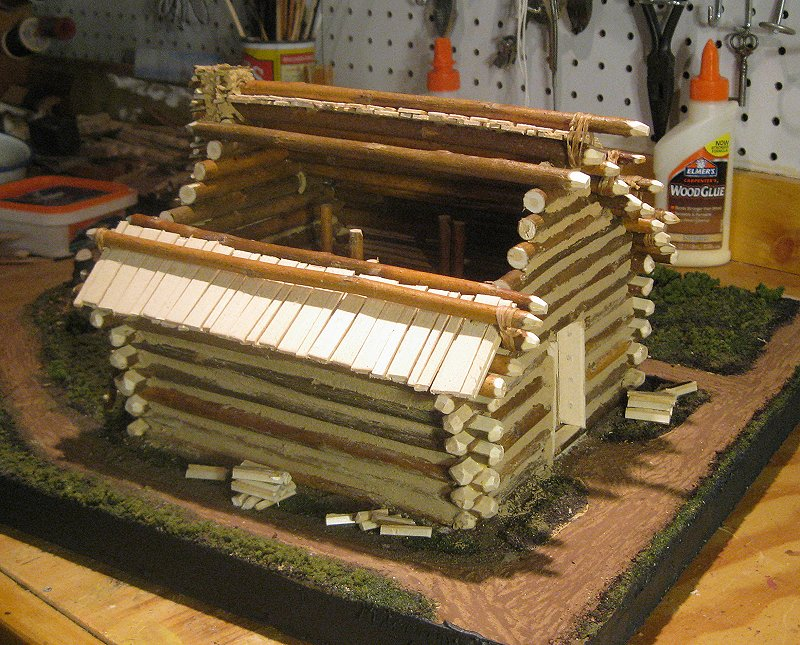 Valley Forge Hut Model Images