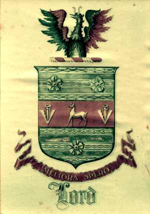 The Coat of Arms in my house.